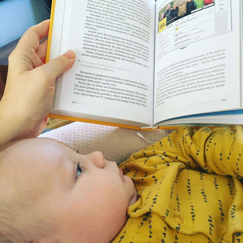 Jooo, knížka Jak nasítě mi byla velkým pomocníkem.